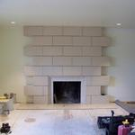 Porcelain Fireplace